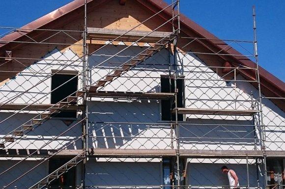 Constructeur maison contemporaine en bois toit plat